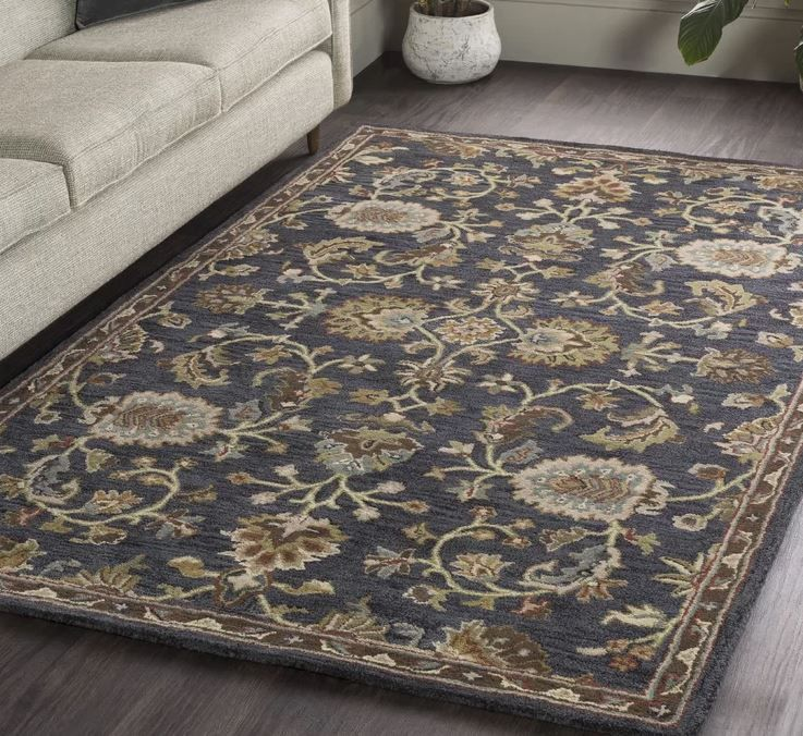 Best Area Rugs For Dark Hardwood Floors Top 5 Bold Options In 2020 Hardwood Floors Dark Area Rugs Dark Hardwood