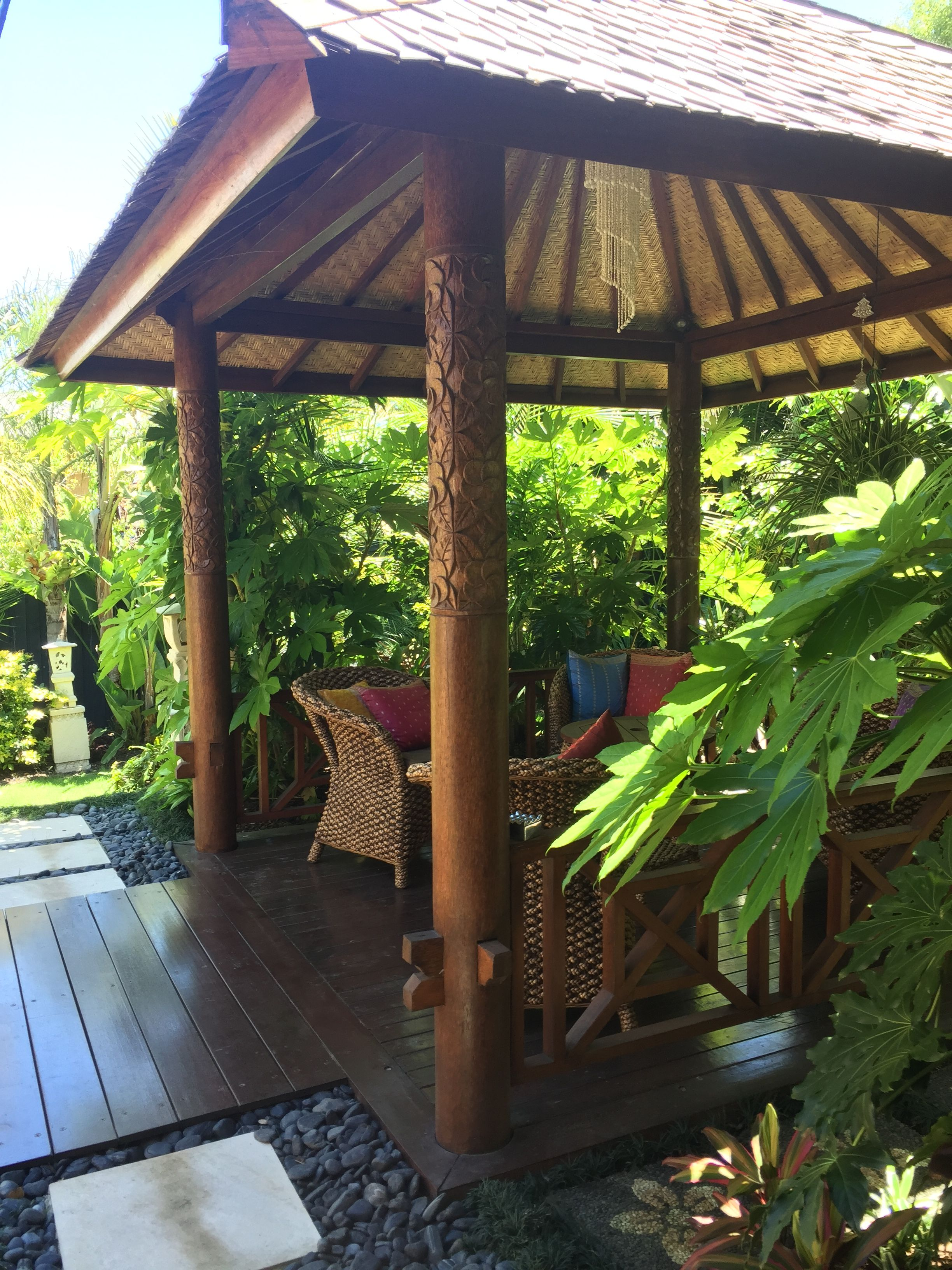 Balinese garden design by Melisa Dixon | YARD IMPROVEMENTS ...