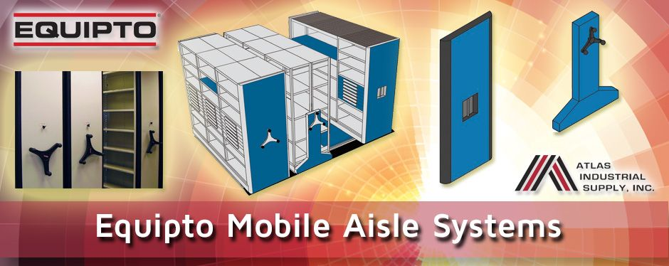 Equipto Mobile Aisle Systems for space saving solutions for any workshop or storage space