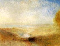 Landscape with Distant River and Bay, c. 1840-50; Oil on canvas, 94 x 124 cm; Musée du Louvre, Paris