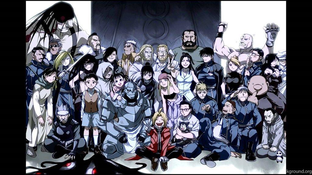 Top Hd Fullmetal Alchemist Brotherhood Wallpapers
