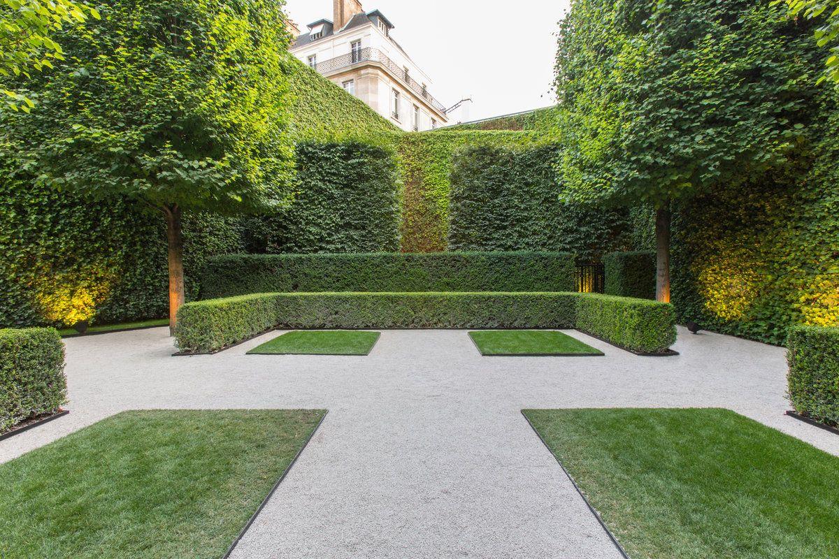 Exterior Design Landscaping structured garden. pinned to garden designbask landscape