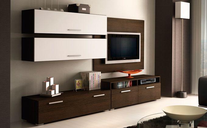 Mueble de comedor wengu blanco decoracion pinterest for Comedores modernos economicos