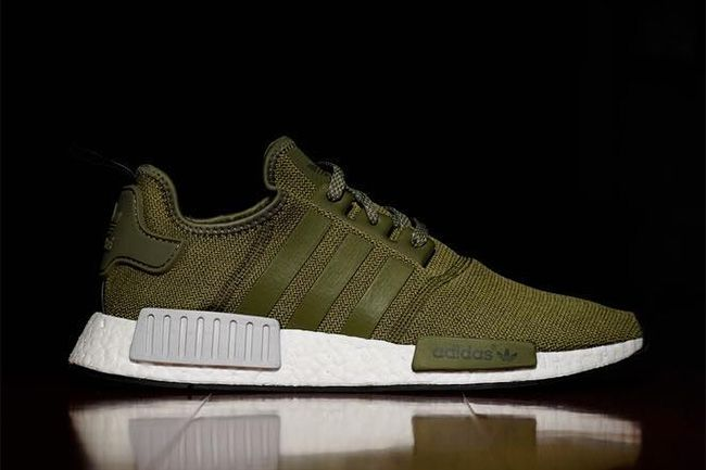 837e46280f92 adidas Dresses the NMD in Olive Green for Upcoming Release - EU Kicks   Sneaker Magazine