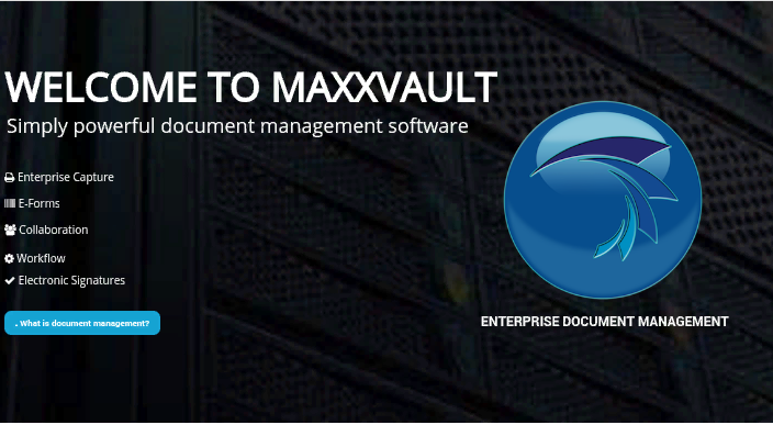 MaxxVault provides electronic document management systems (EDMS software) and cloud document management solutions to small, medium and large companies in over 25 vertical industries.  http://www.maxxvault.com/