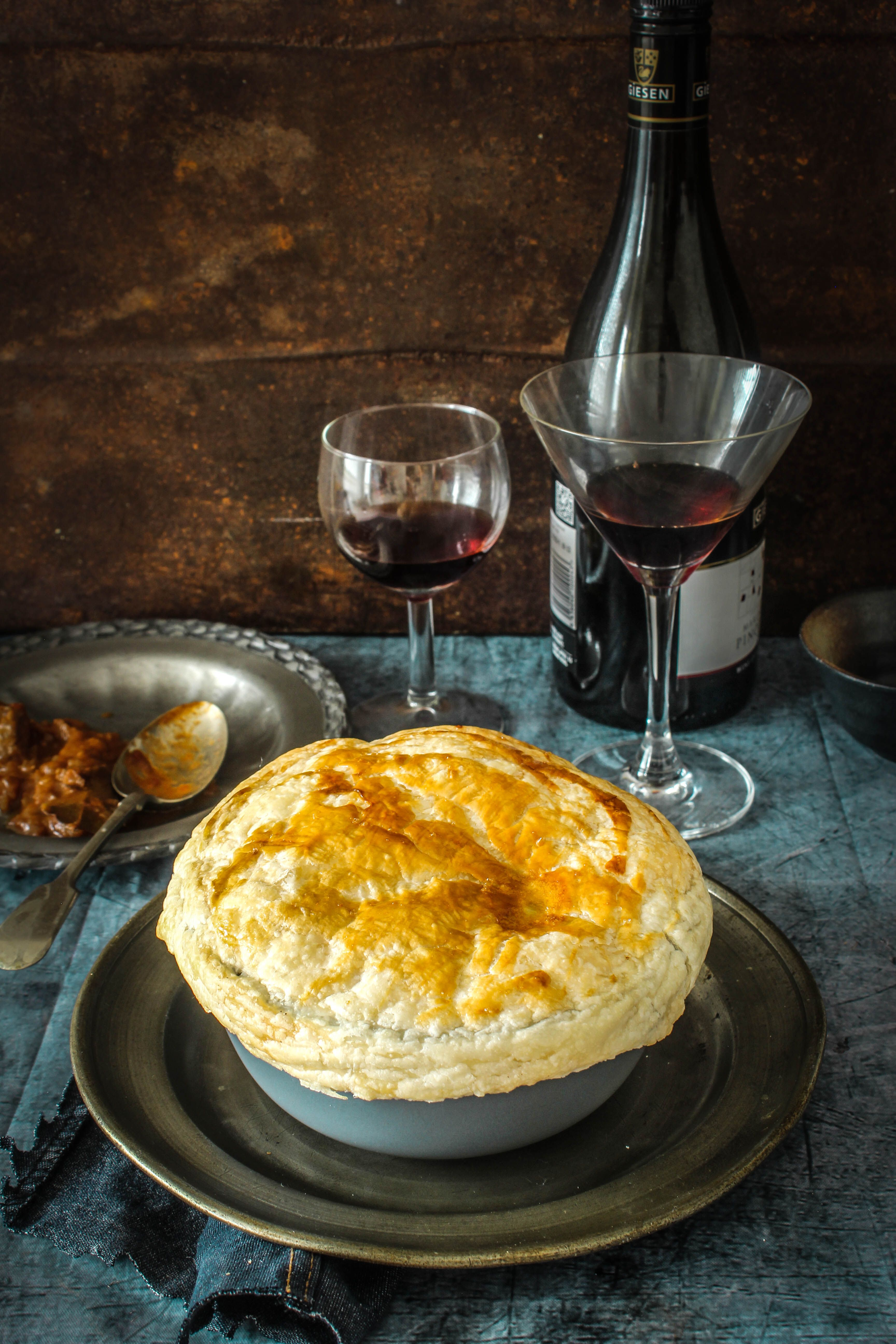 Lamb Rogan Josh Pot Pie @FoodBlogs