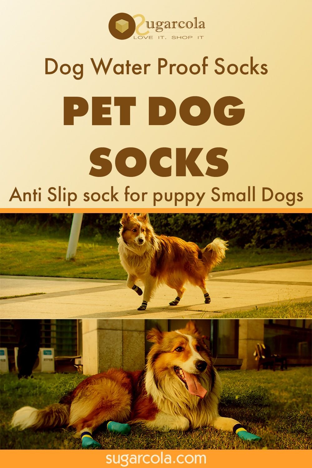 Dog Water Proof Socks Dogs Pet Dogs Small Puppies