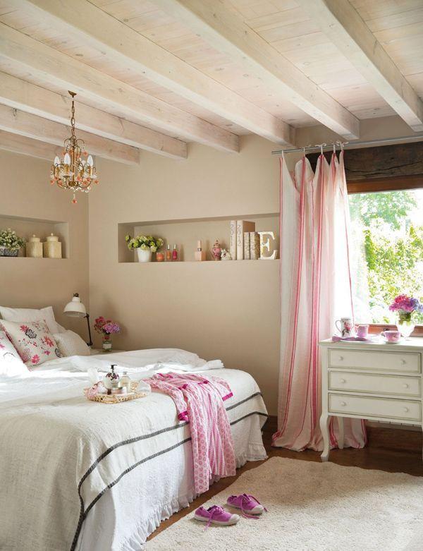 #bedroom pink, girly, light bedroom  ~ http://kinteriorsblog.wordpress.com/