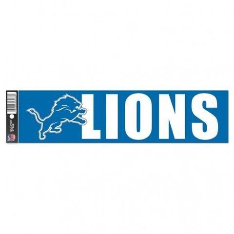 Detroit Lions Bumper Sticker