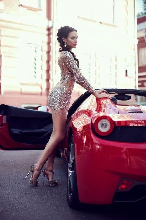 Hebe Sexy Girl And Car Photos
