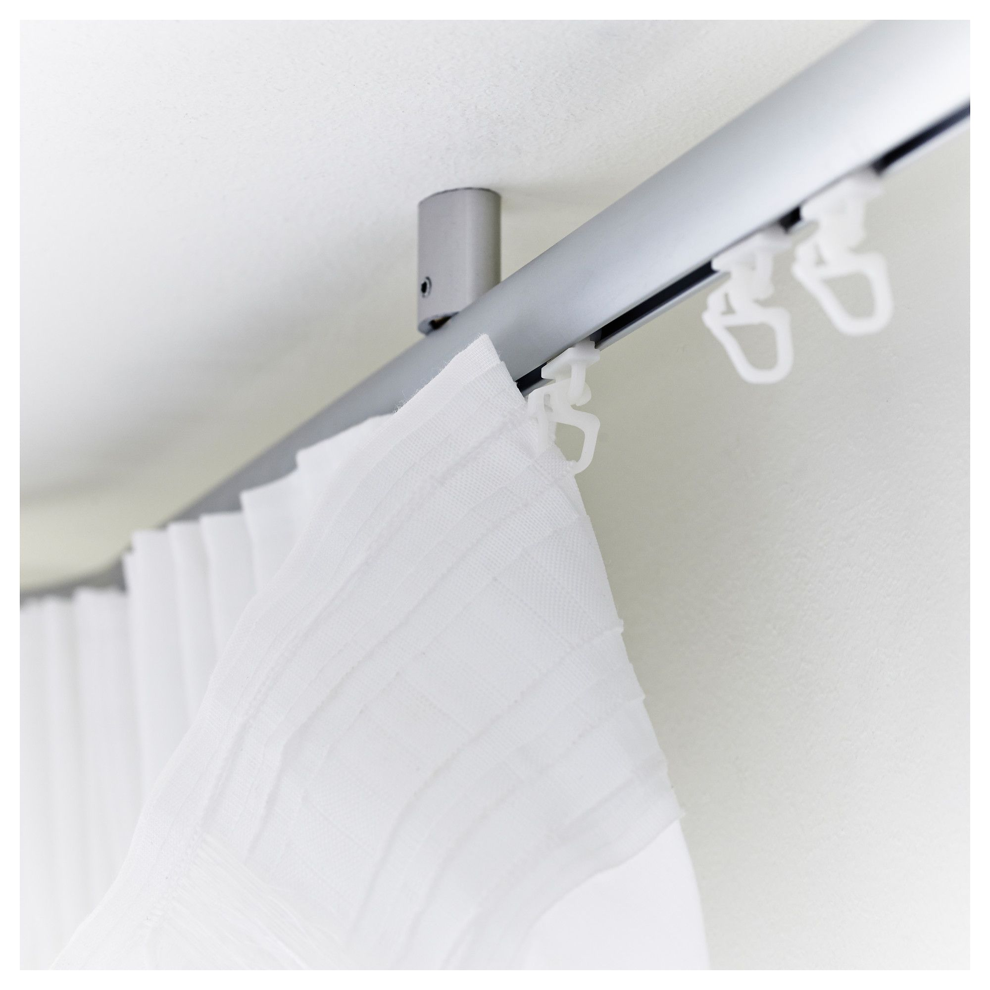 IKEA   KVARTAL, Glider And Hook, For Easy Hanging Of Curtains With KVARTAL  Curtain
