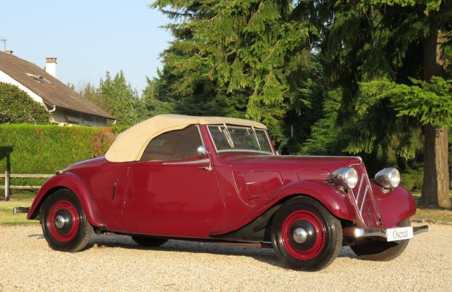 1937 Citroën Traction Avant 7CV Cabriolet Maintenance of old vehicles: the material for new cogs/casters/gears/pads could be cast polyamide which I (Cast polyamide) can produce