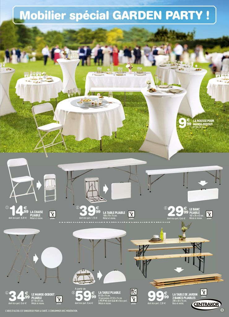 Resultat De Recherche D Images Pour Table Pliable Centrakor Table Decorations Decor Interior