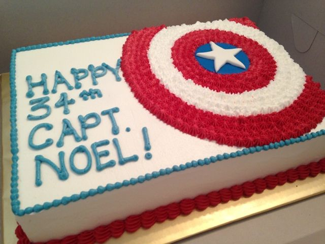 captain america cake Google Search Sams 6th Birthday