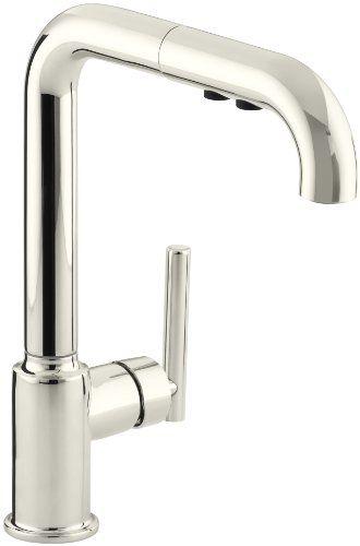 Kohler K 7505 Sn Purist Primary Pullout Kitchen Faucet Vibrant