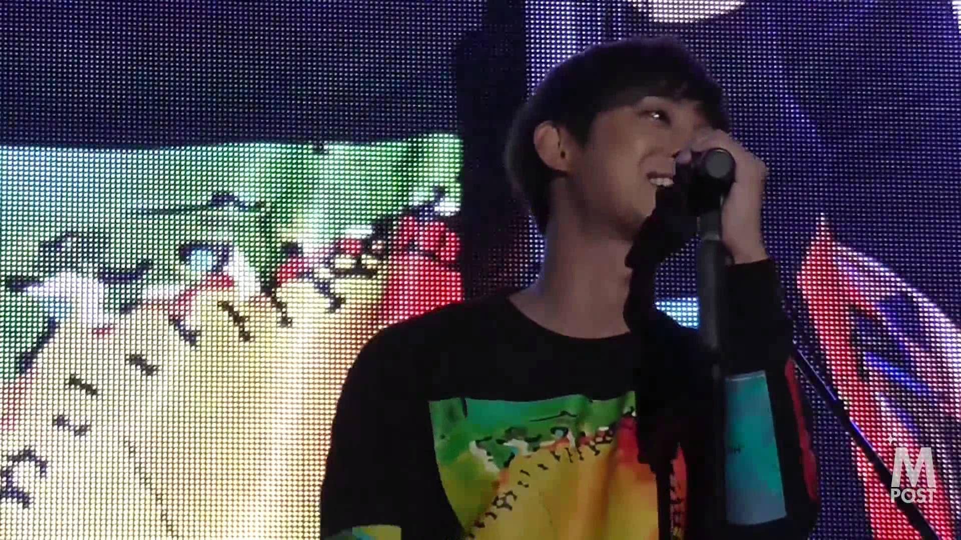 【韓流Mpost】キム・ヒョンジュン 20140928 日韓交流おまつり K-POPコンサート