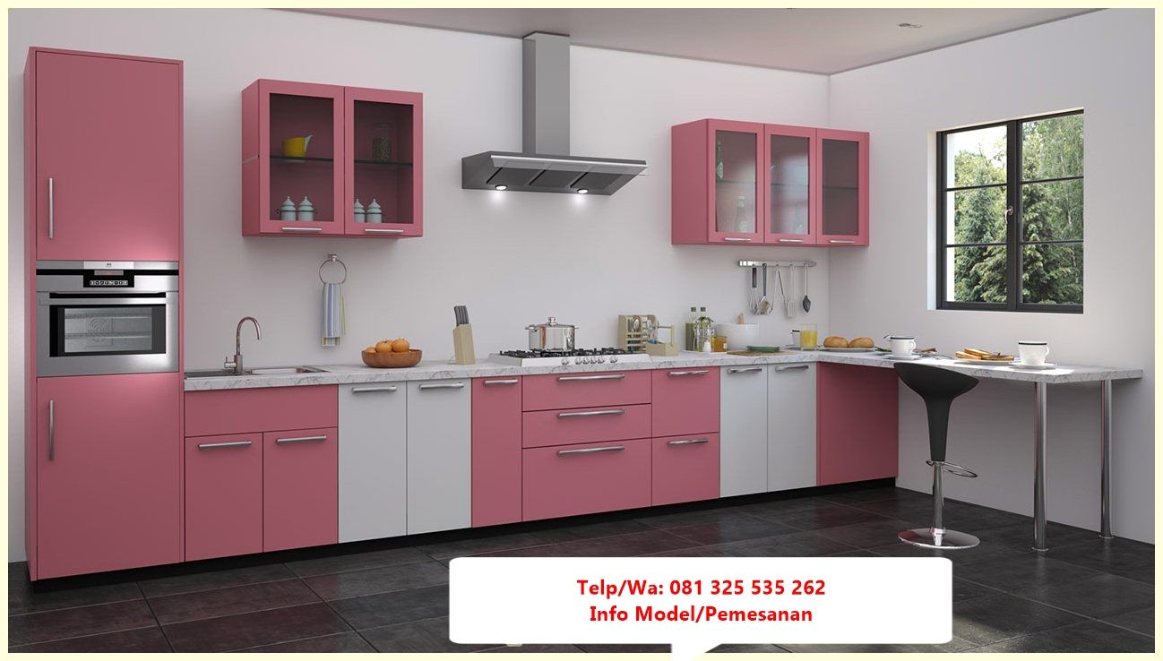 Desain Kitchen Set Jati Minimalis Trend Model Kitchen Set
