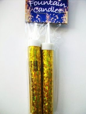 birthday cake candles 1 pack of fountain candles gold 2pk on birthday cake fountain candles