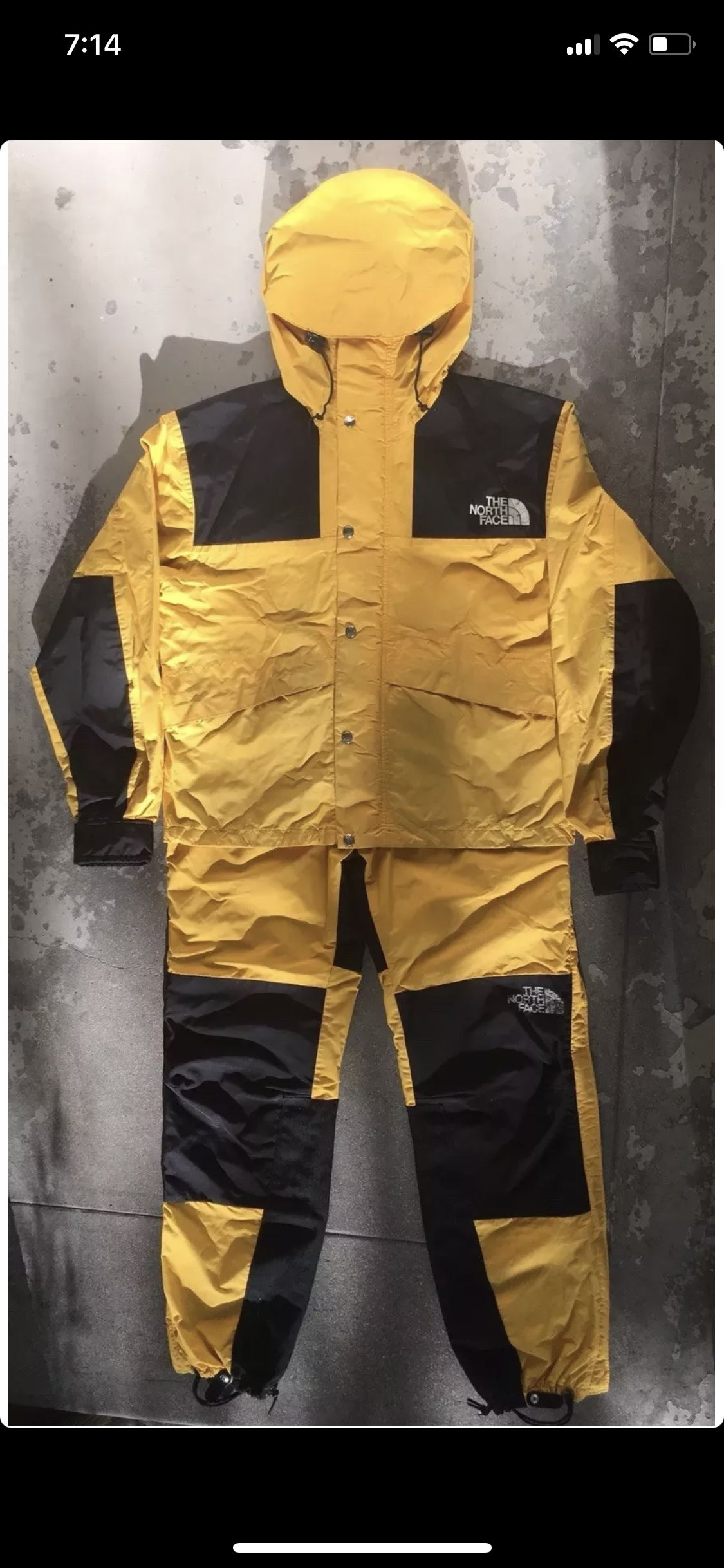 The North Face 1980 S Mountain Jacket Full Set North Face Gear North Face Jacket Mountain Jacket [ 2436 x 1125 Pixel ]