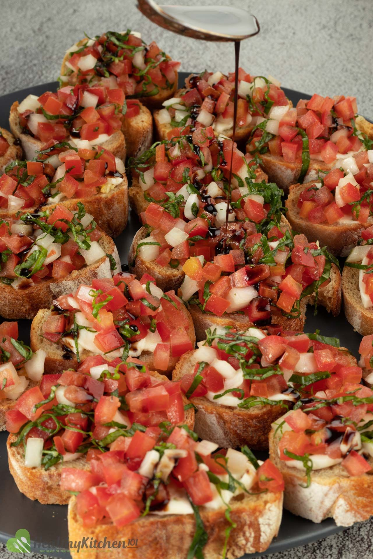Photo of Tomato Bruschetta: a quick Italian recipe for a wholesome breakfast with lots of vegetables