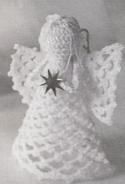 Connu angelo natalizio | angelo uncinetto | Pinterest | Idee fai da te  SW11