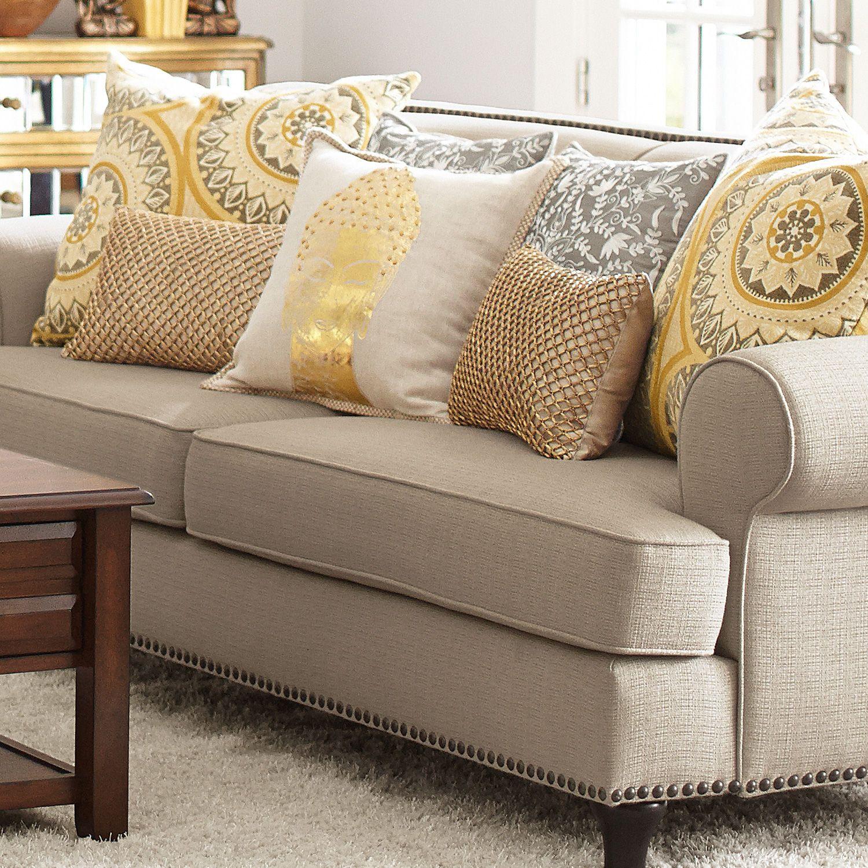 Metallic Gold Pillows Eeep Beige Sofa Living Room Living Room Sofa Yellow Living Room #pillows #for #living #room #sofa