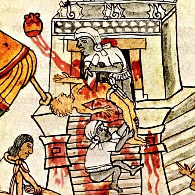mayan sacrifice pit - 657×657