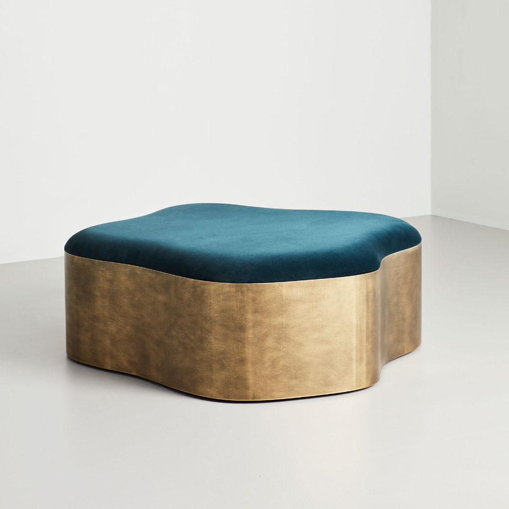 Lily Ottoman Coffee Table Modern Furniture By Tom Faulkner Ottoman Coffee Round Ottoman Coffee Table Luxury Coffee Table [ 1000 x 1000 Pixel ]