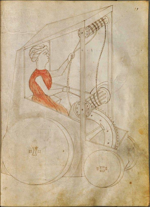 "Giovanni de la Fontana, engineer and magician (ca. 1395 – ca. 1455) ""Fire Witch…"
