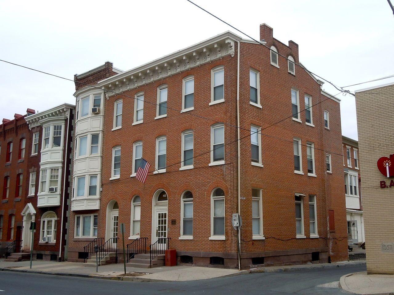 Livingood House-Stryker Hospital in Berks County, Pennsylvania.