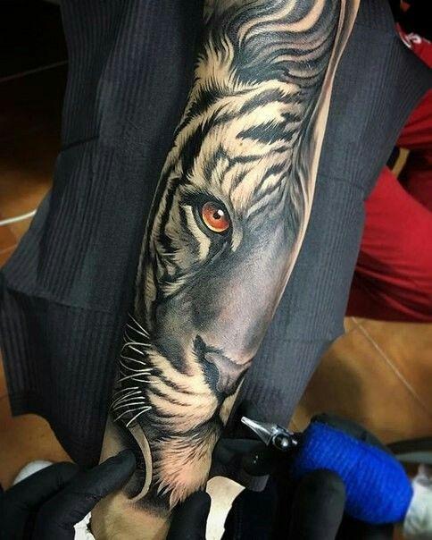 Eye Of Tiger Tattoo Pinterest Tattoos Tiger Tattoo And Tattoo