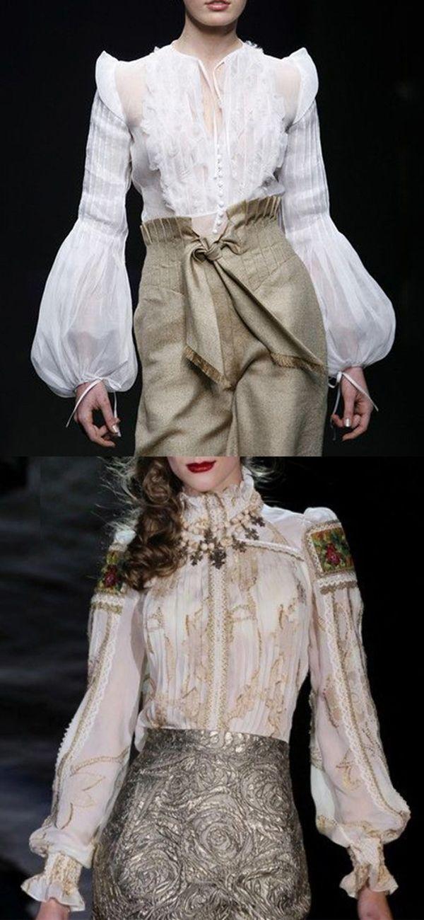 Fashion White Blouses