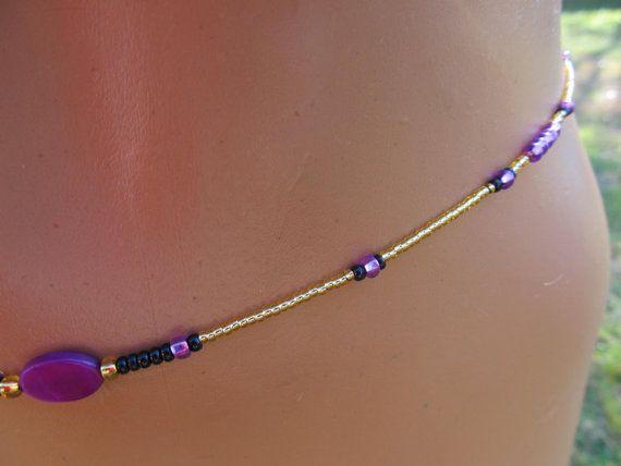 Waist Beads Multi-Colour Waist Chains African Waist Beads Multi-Colour Waist Beads Boho Waist Chains