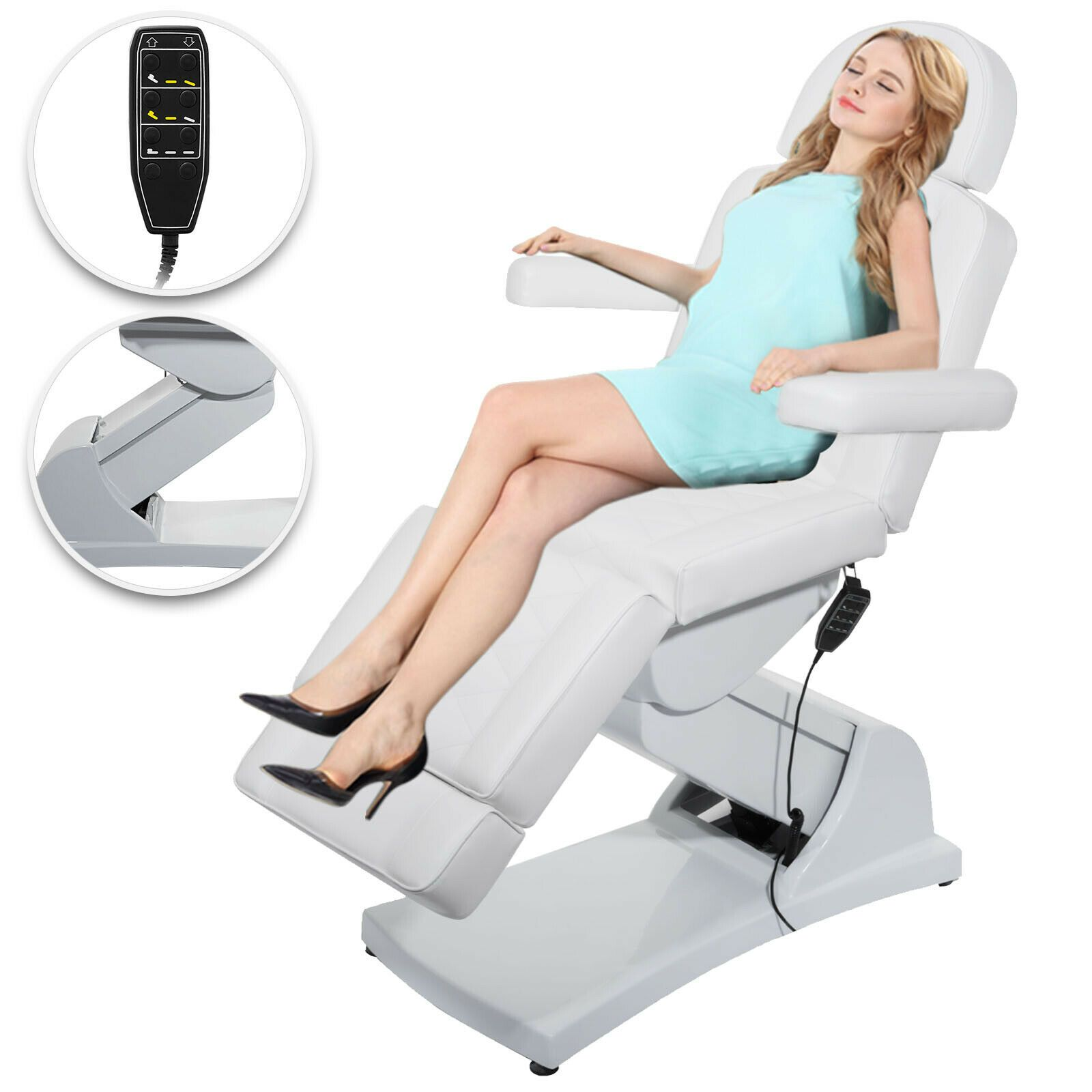 Electric Facial Chair In 2020 Massage Chair Massage Table Chair