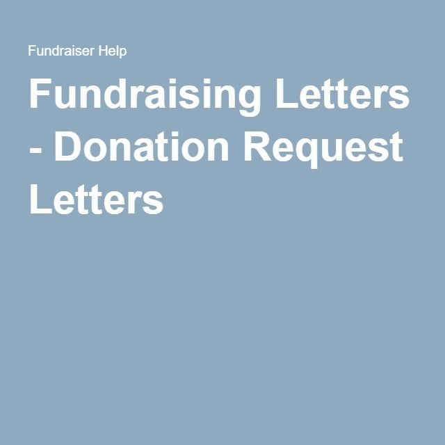 Fundraising Letters - Donation Request Letters Joseph SDT