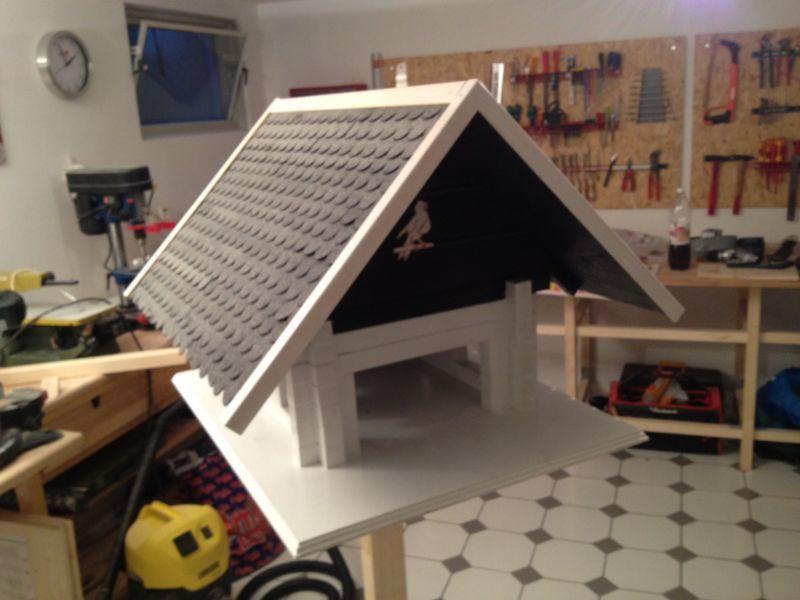 Großes Vogelhaus - Bauanleitung zum Selberbauen - 1-2-do.com - Deine Heimwerker Community #vogelhausbauen