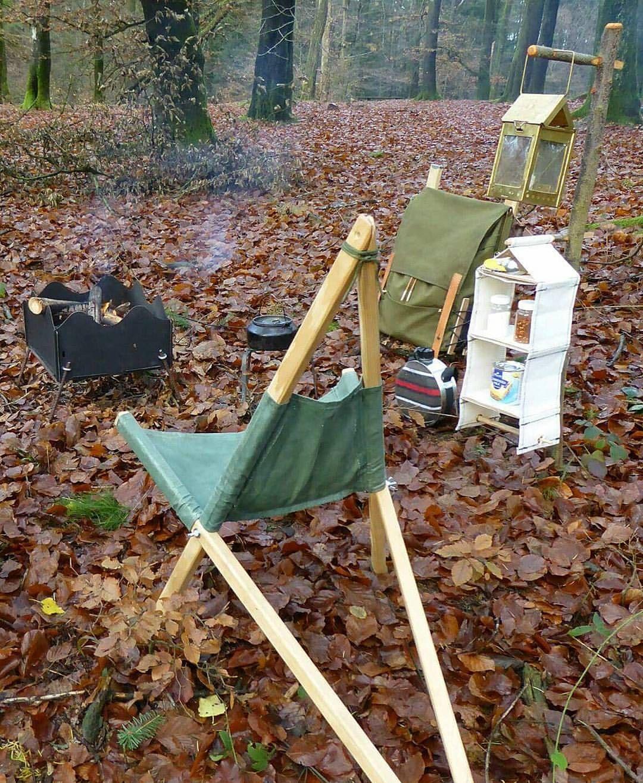 Magnificent Pin By Boheme Living On Glamping Camping Furniture Spiritservingveterans Wood Chair Design Ideas Spiritservingveteransorg