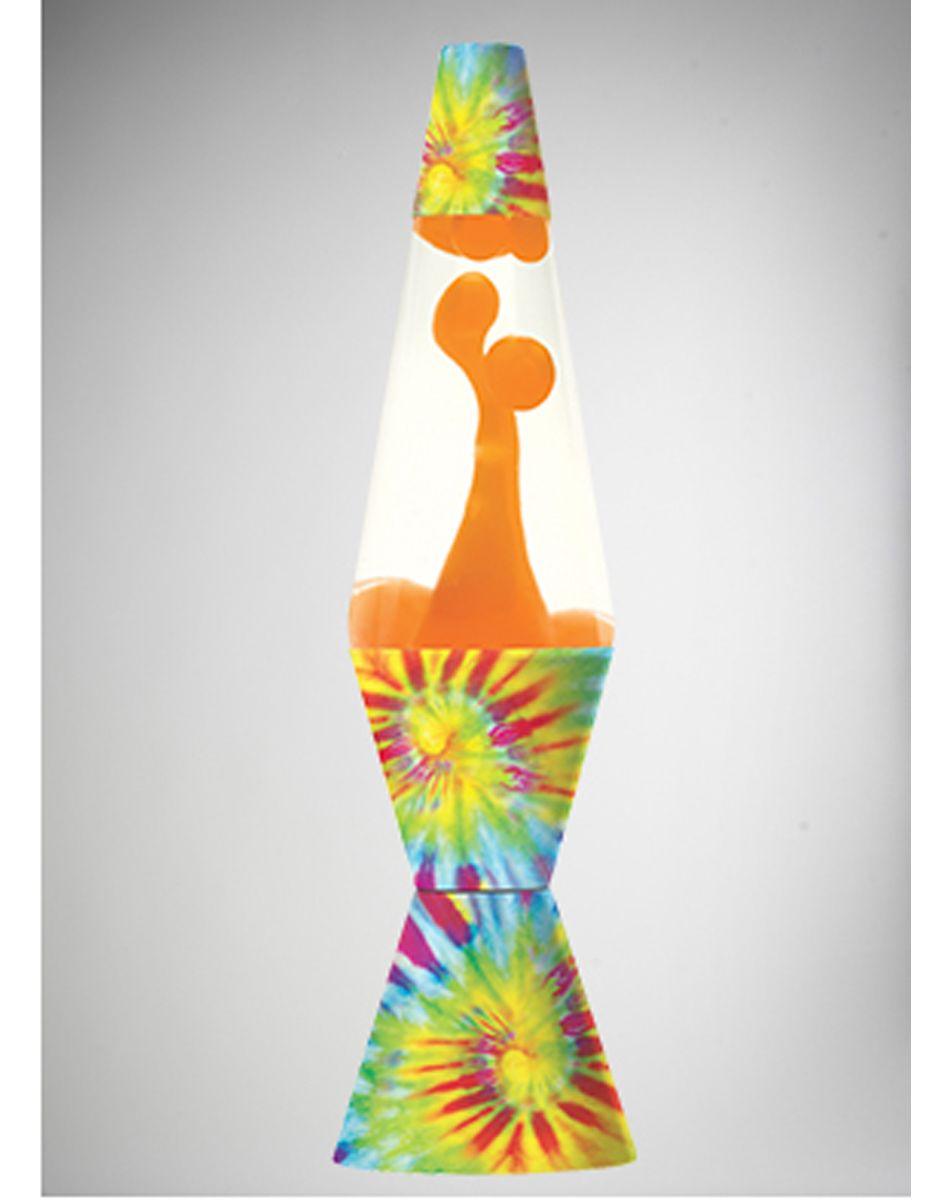 Lava lamp near me - Tie Dye With Orange Lava 32oz Lava Lamp