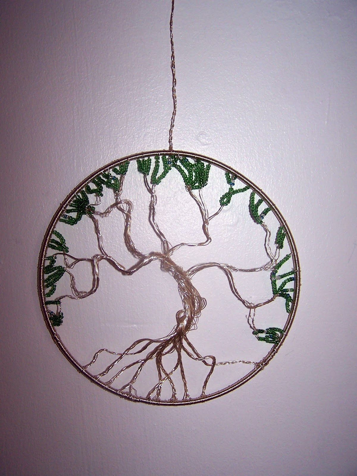 Based on Wire Wrapped Tree Of Life Ornament by Lisa H. | Wire ...