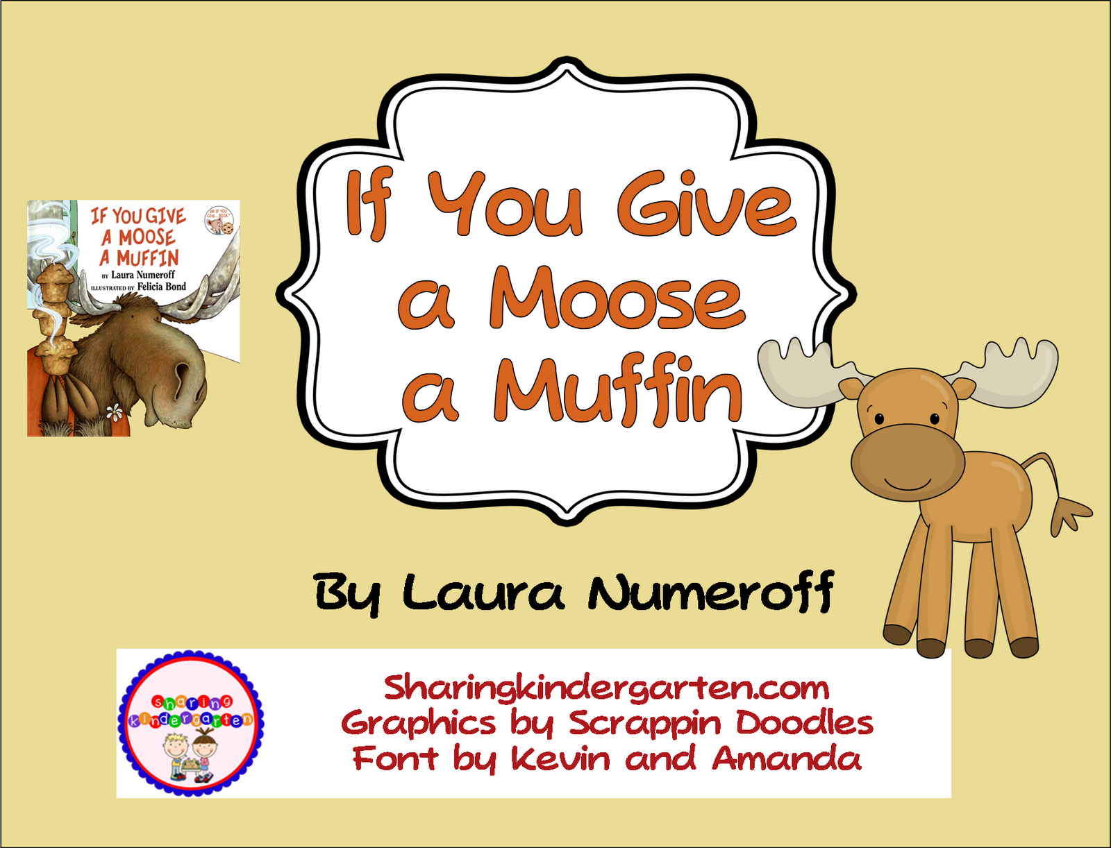 If You Give A Moose A Muffin Freebie