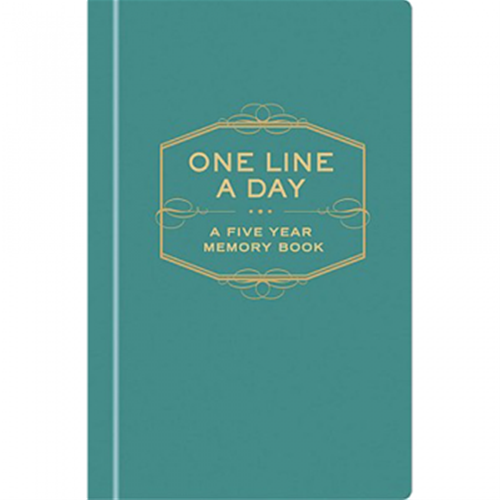 One Line A Day: Five Year Memory Book- Chronicle | Spitfire Girl