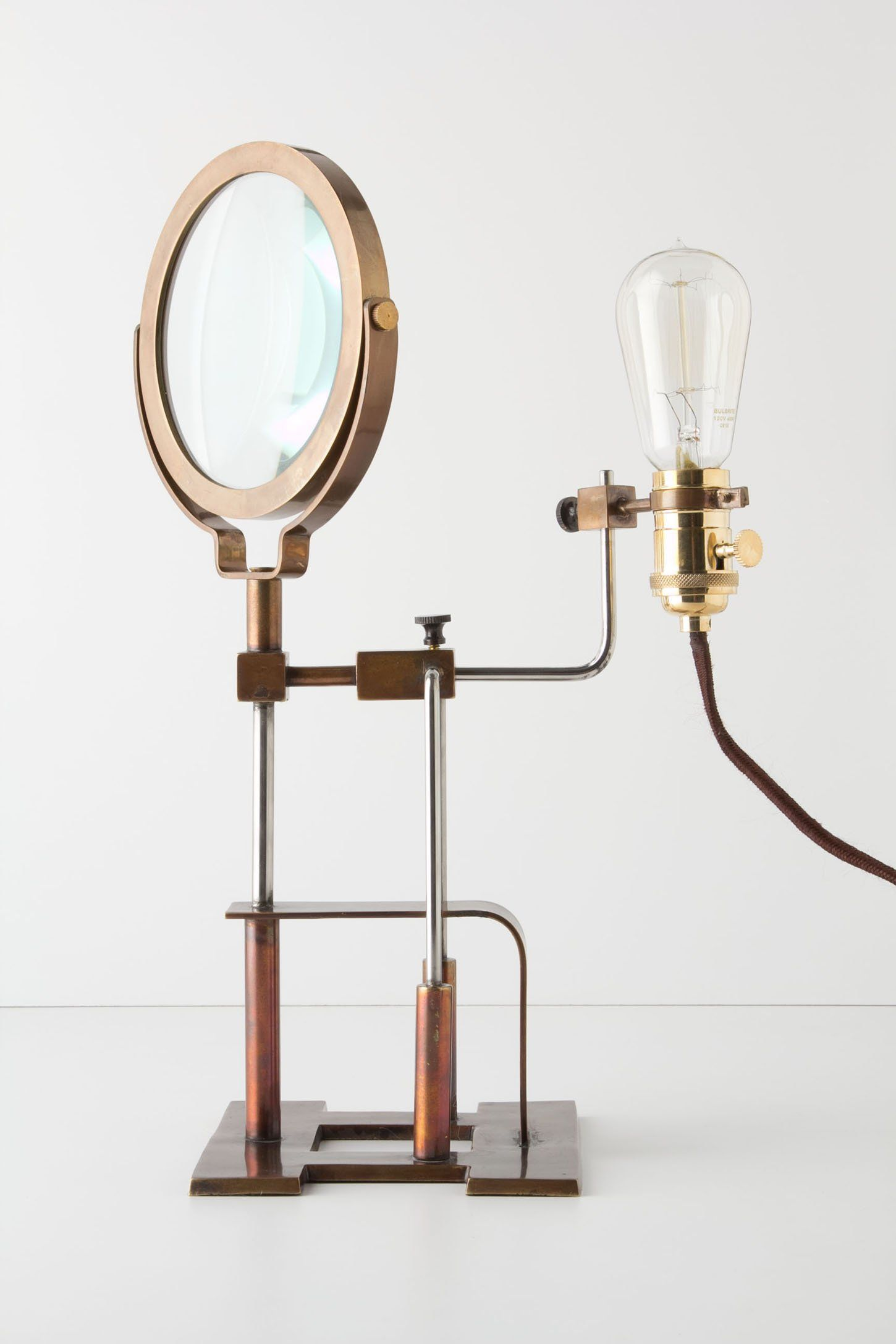 Magnifying Glass Lamp | Anthropologie