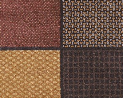 "Patchwork 5'2"" x 7'2"" Rug by Ashley HomeStore, Brown, Polypropylene (100 %)"