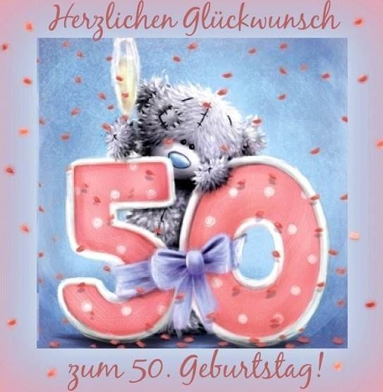 Herzlichen Gluckwunsch Zum 50 Geburtstag Geburtstag Pinterest