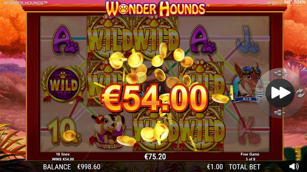 Wonder Hounds Slot Machine