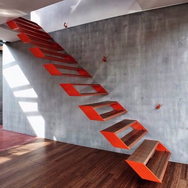 32 Floating Staircase Ideas For Contemporary Home: Awesome Stairs . Architects: OYO . Location: Kleit