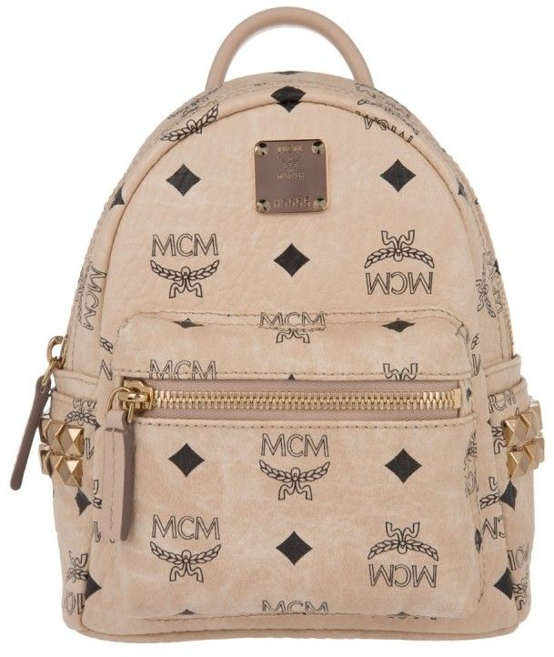 MCM Tasche Stark Backpack X Mini Beige in beige