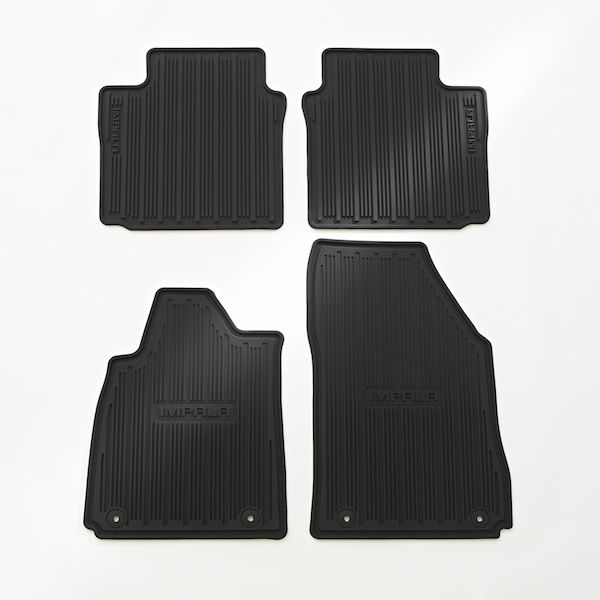 Impala All Weather Floor Mats These Front And Rear Premium All Weather Floor Mats With Customdesigned Deep Patterned Volkswagen Routan Impala Chevrolet Impala