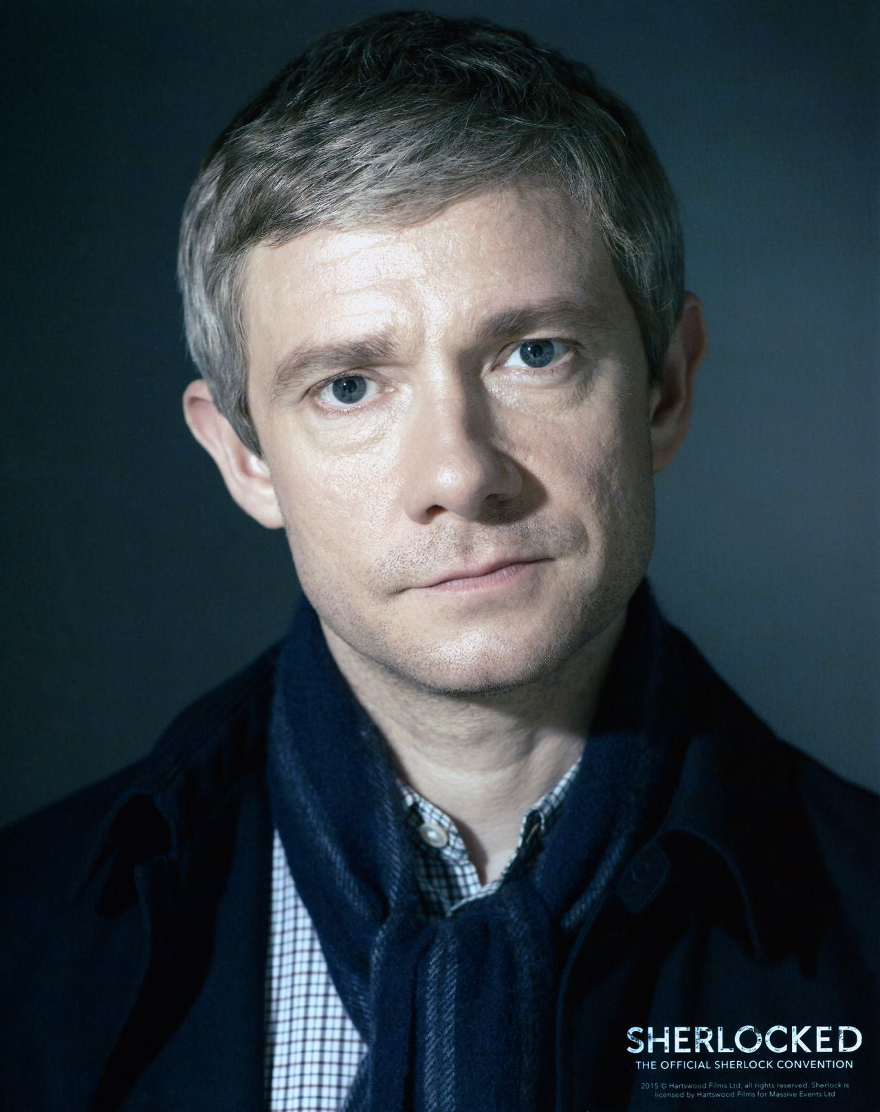 02   Lovely New Promo Picture Released At Sherlocked   John Watson With  Scarf  Dr Watson I Presume