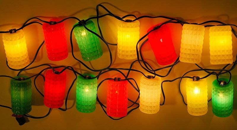 Vintage Patio Party Lights I Ly Remember These From Camping In Our Shasta Travel Trailer They Looked So Cool Hung Up